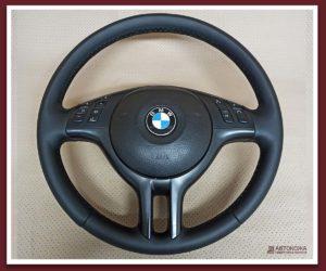 Картинка перетяжка руля BMW