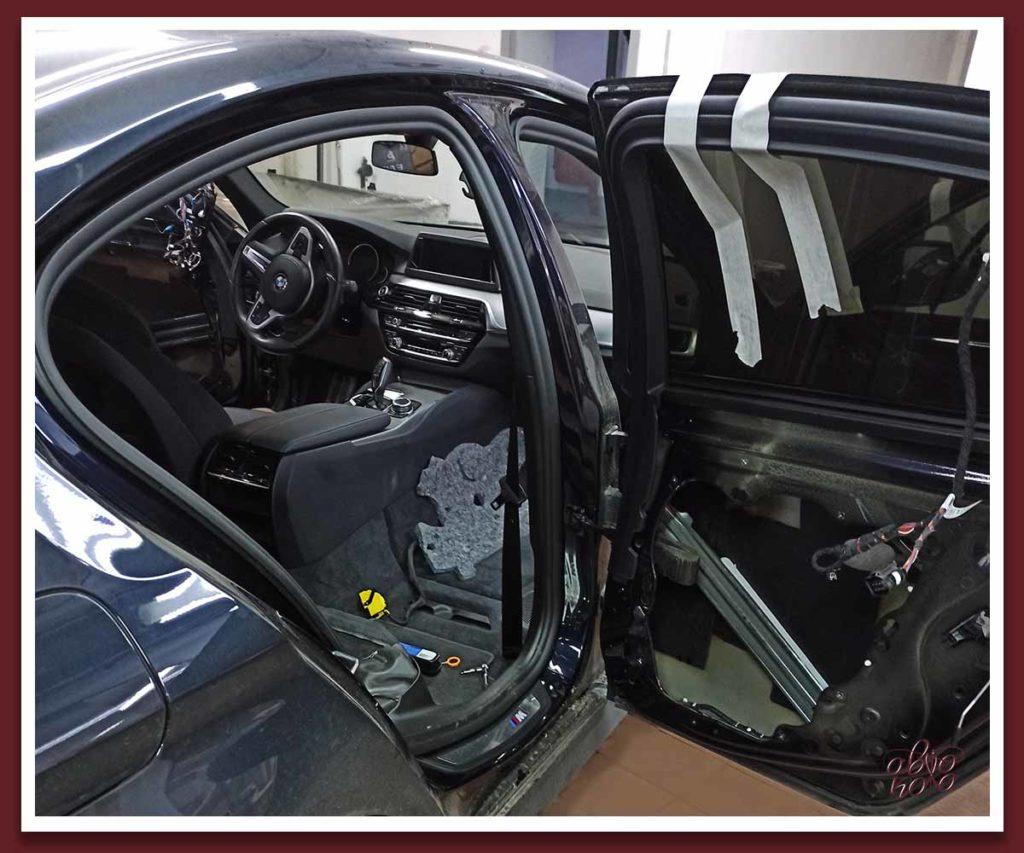 Картинка шумоизоляция дверей авто