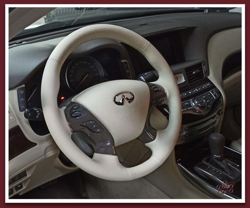Картинка руль с перешитой подушкой безопасности airbag