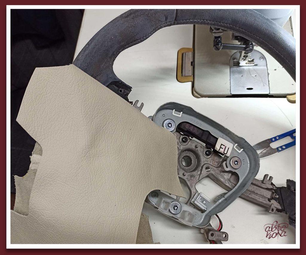 Картинка выкройки для подушки безопасности руля